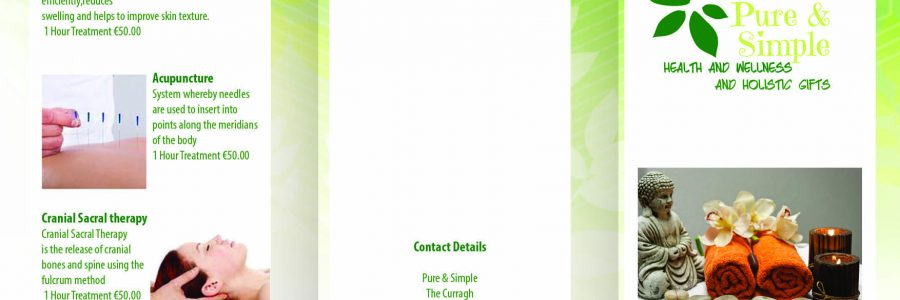 Brochure Printing and More for Pure and Simple